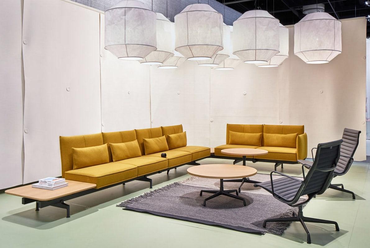 VITRA Aluminium 115 116 sedia lounge gallery2