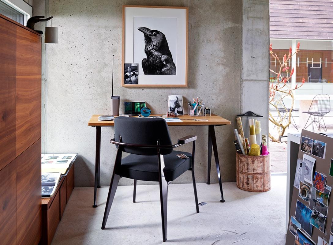 Vitra Fauteuil Direction - vendita online gallery 6