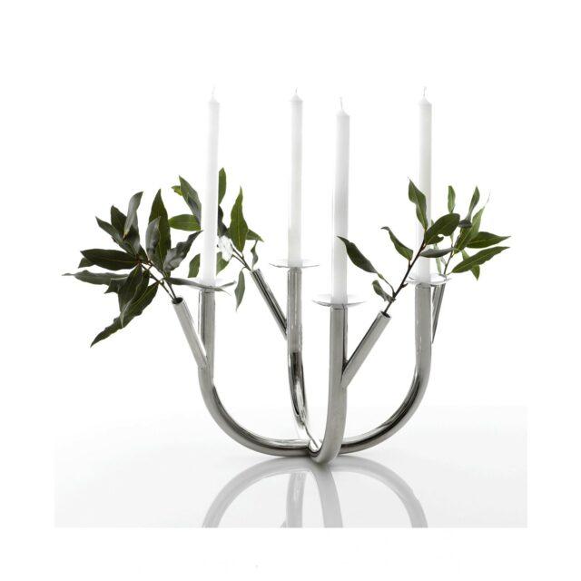 DRIADE candelabro fioriera together