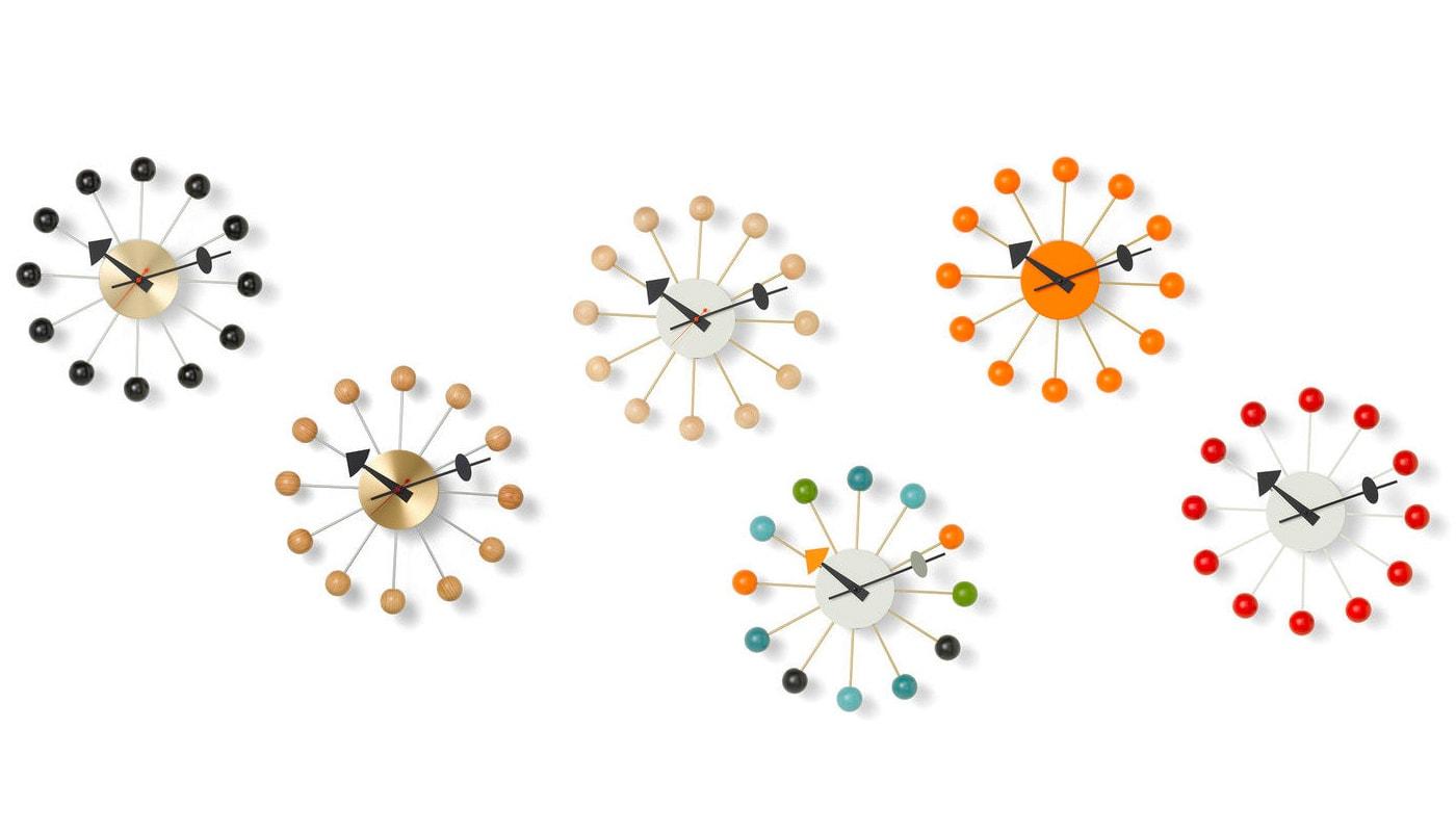 VITRA Ball Clock orologio da parete gallery 4