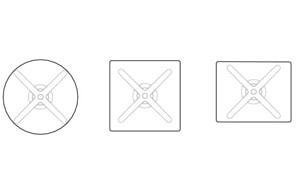 Virta Super Fold tavolo con top a ribalta