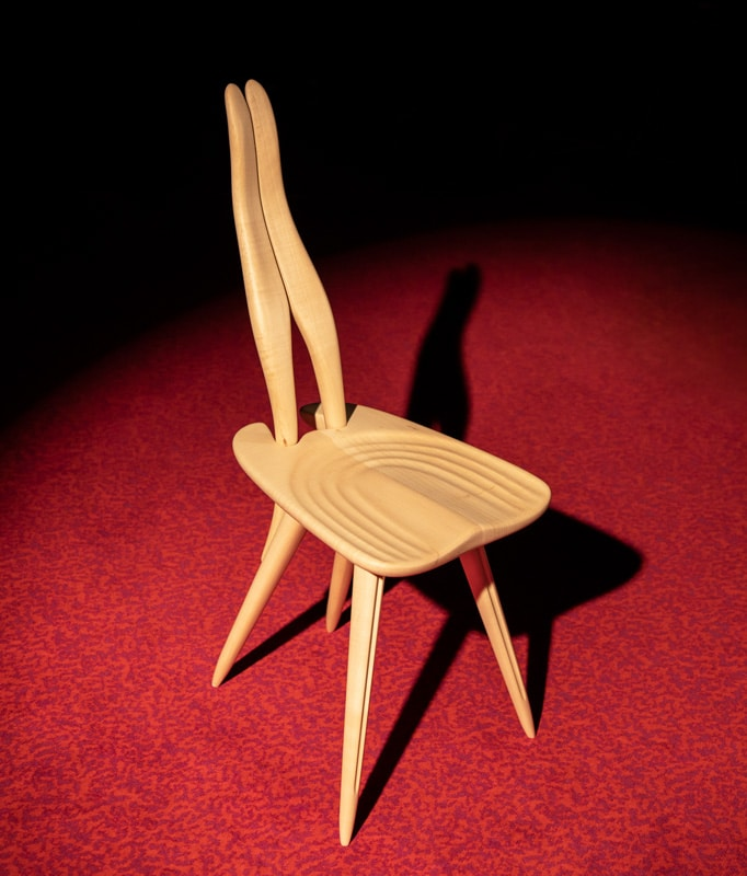 ZANOTTA Fenis CM sedia in legno gallery 3