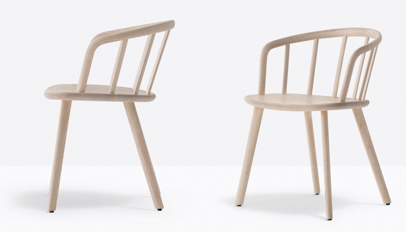 PEDRALI Nym sedia legno gallery 3