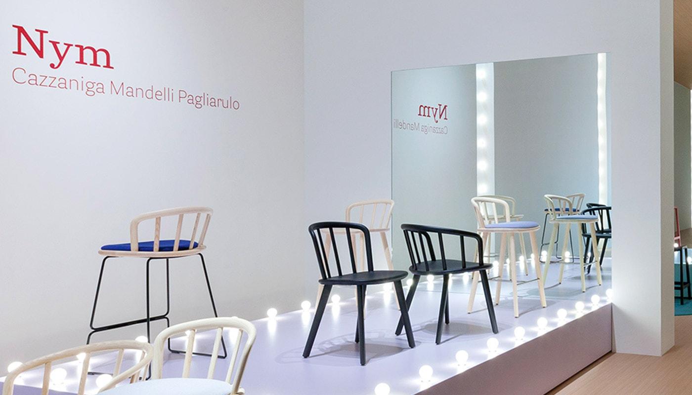 PEDRALI Nym sedia legno gallery 2
