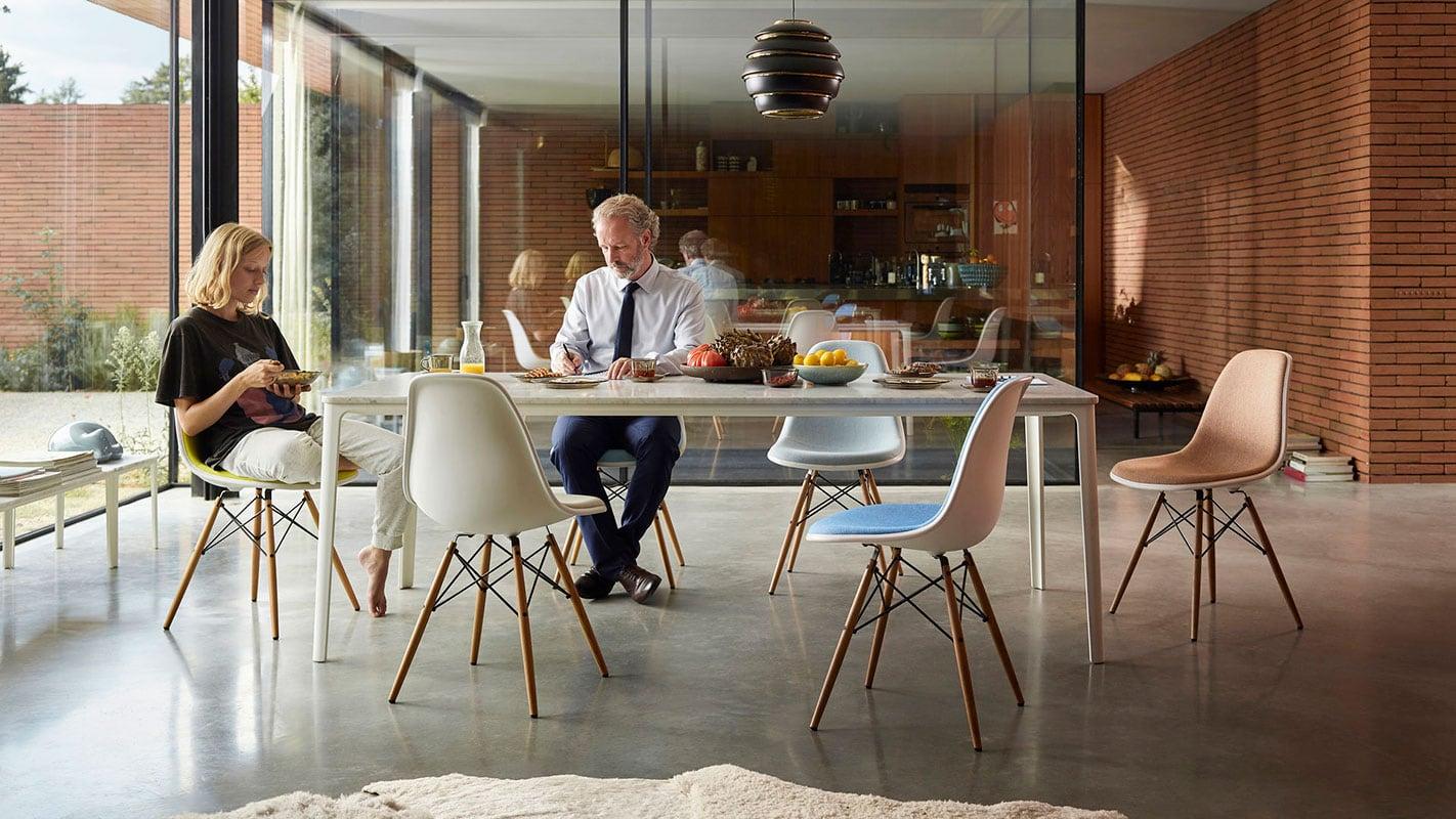 VITRA Plate dining tavolo e eames plastic dsx gallery 11