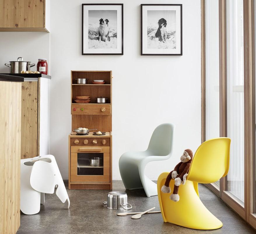 Vitra panton chair junior - Eames elephant - gallery