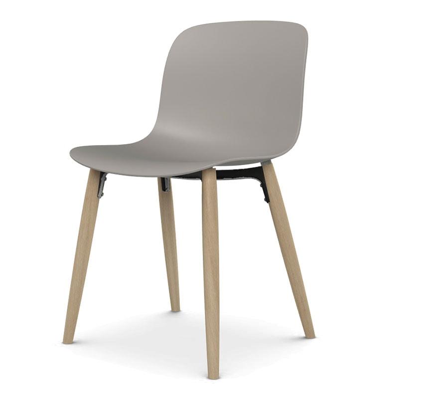 MAGIS Troy-sedia 4 gambe legno gallery4