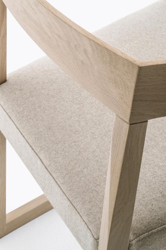 PEDRALI SIGN 455 sedia legno