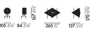 Desk Clocks orologi - dimensioni