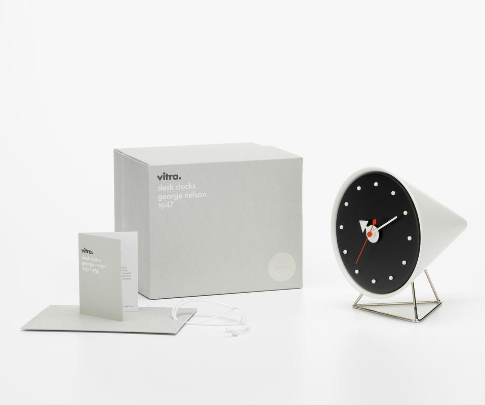 VITRA Desk Clocks orologio Cone gallery