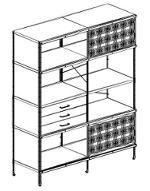 Vitra Eames Storage Unit ESU Bookcase libreria