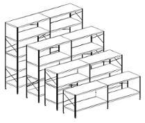 Vitra Eames Storage Unit ESU Shelf libreria