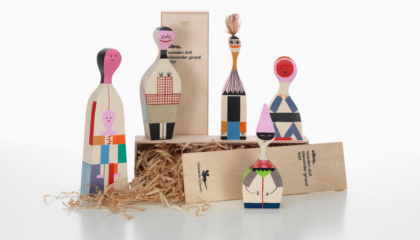 VITRA Wooden Dools bambola legno gallery 1