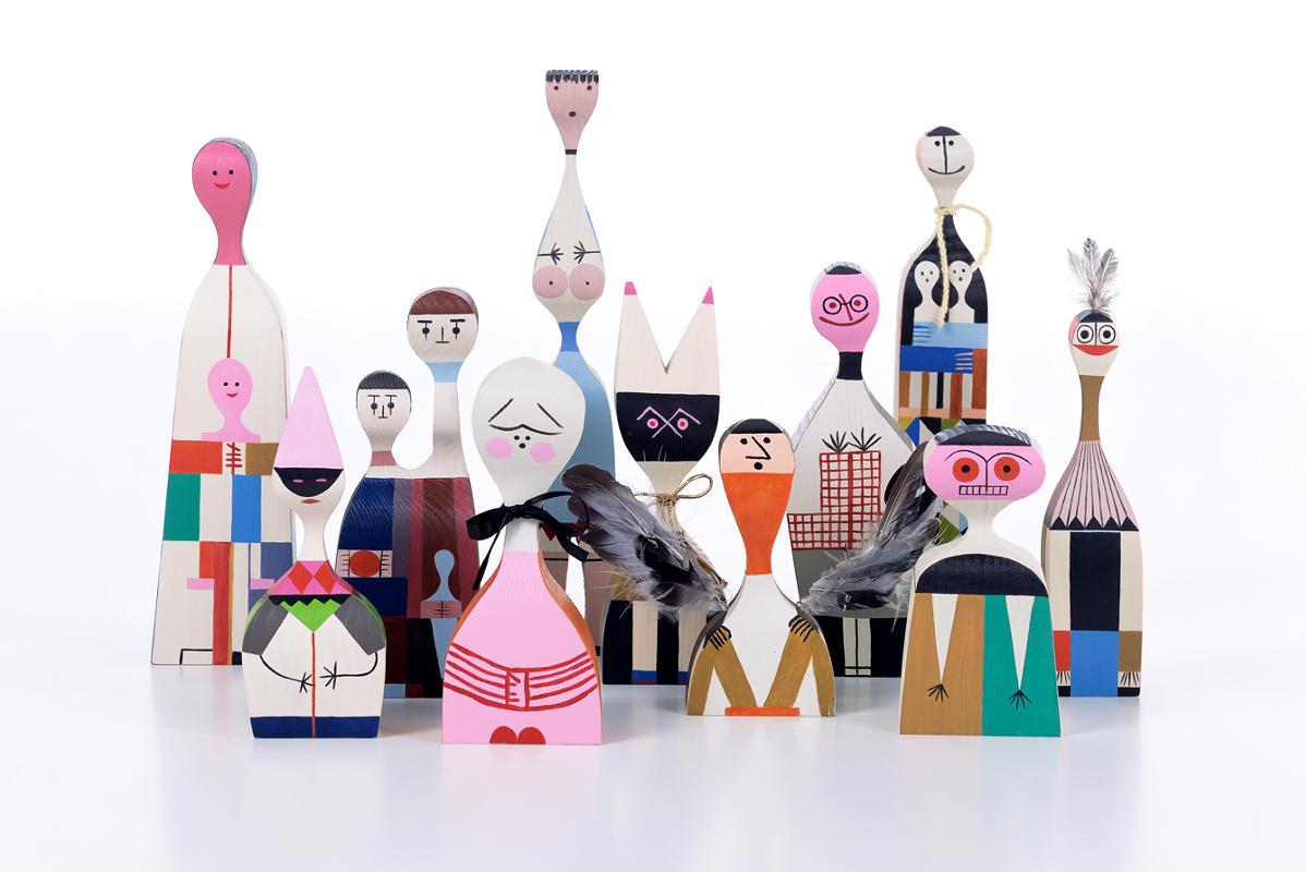 VITRA Wooden Dools bambola legno gallery 2
