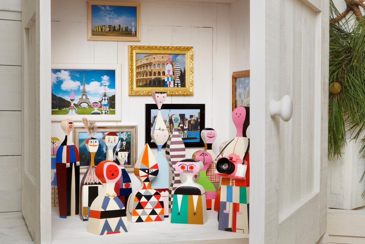 VITRA Wooden Dools bambola legno gallery 3