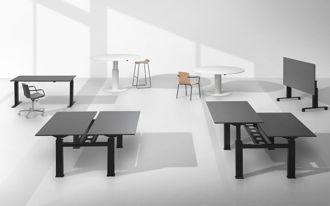 Della Chiara FIT tavolo riunione - srcivania regolabile gallery