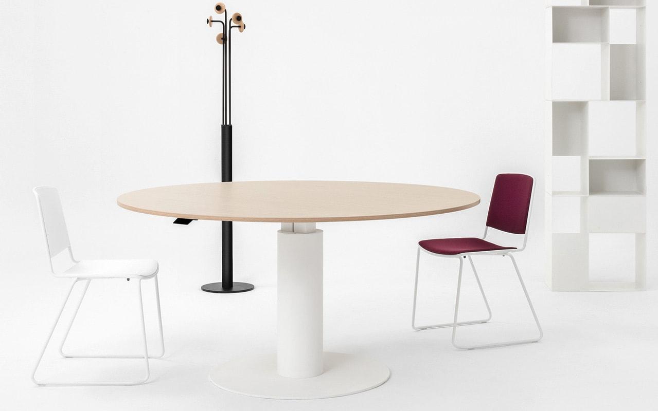 Della Chiara FIT tavolo riunione regolabile gallery 2