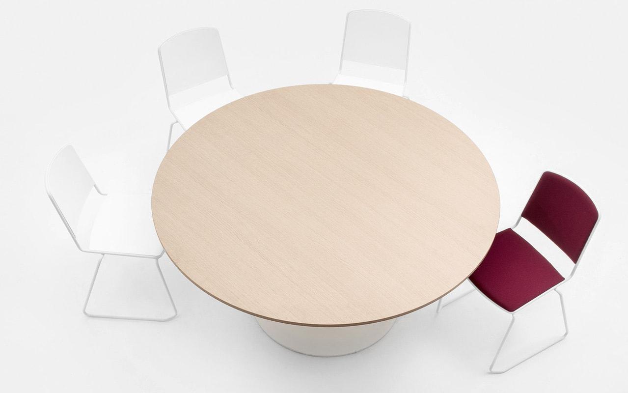 Della Chiara FIT tavolo riunione regolabile gallery 3