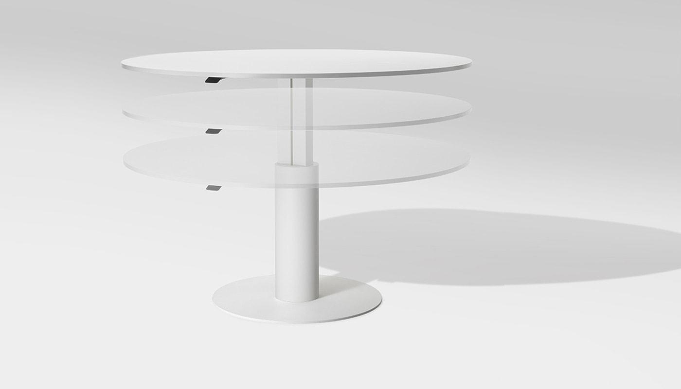 Della Chiara tavolo riunione sit stand gallery