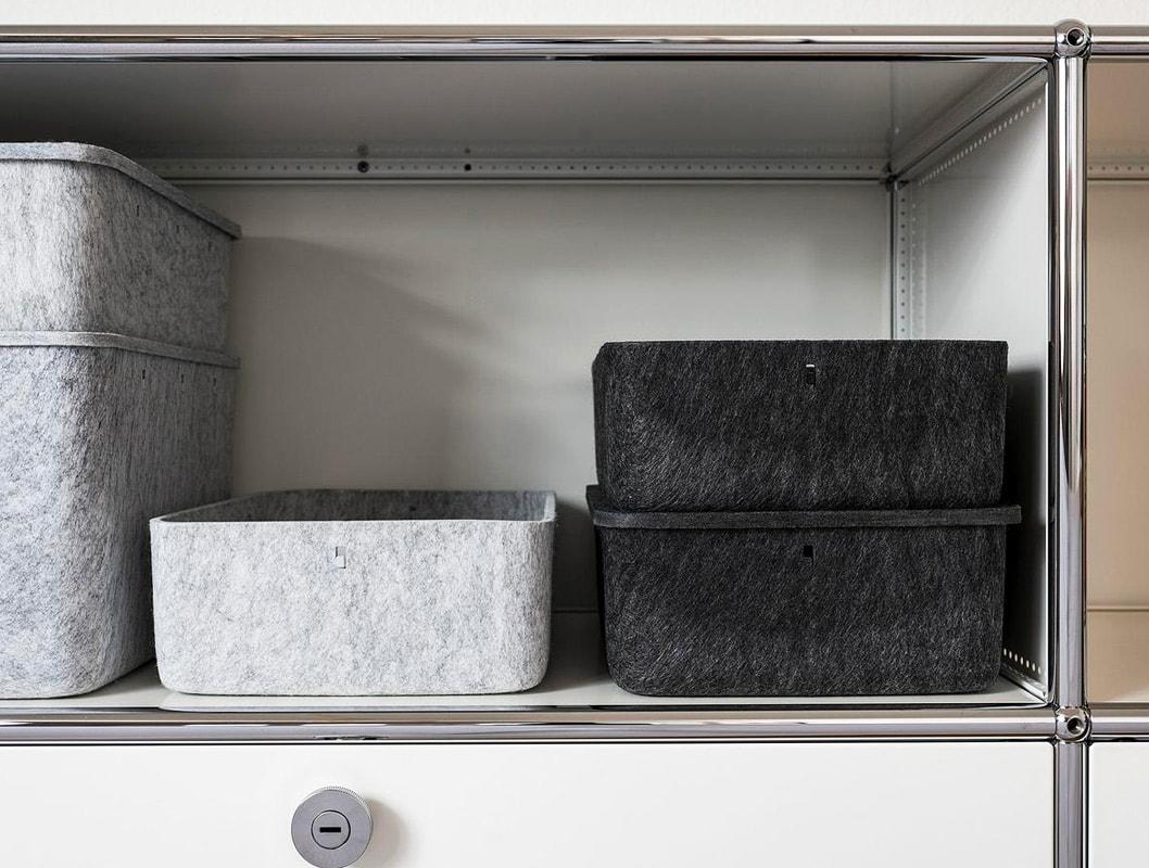 USM Inos Box contenitori feltro gallery 7