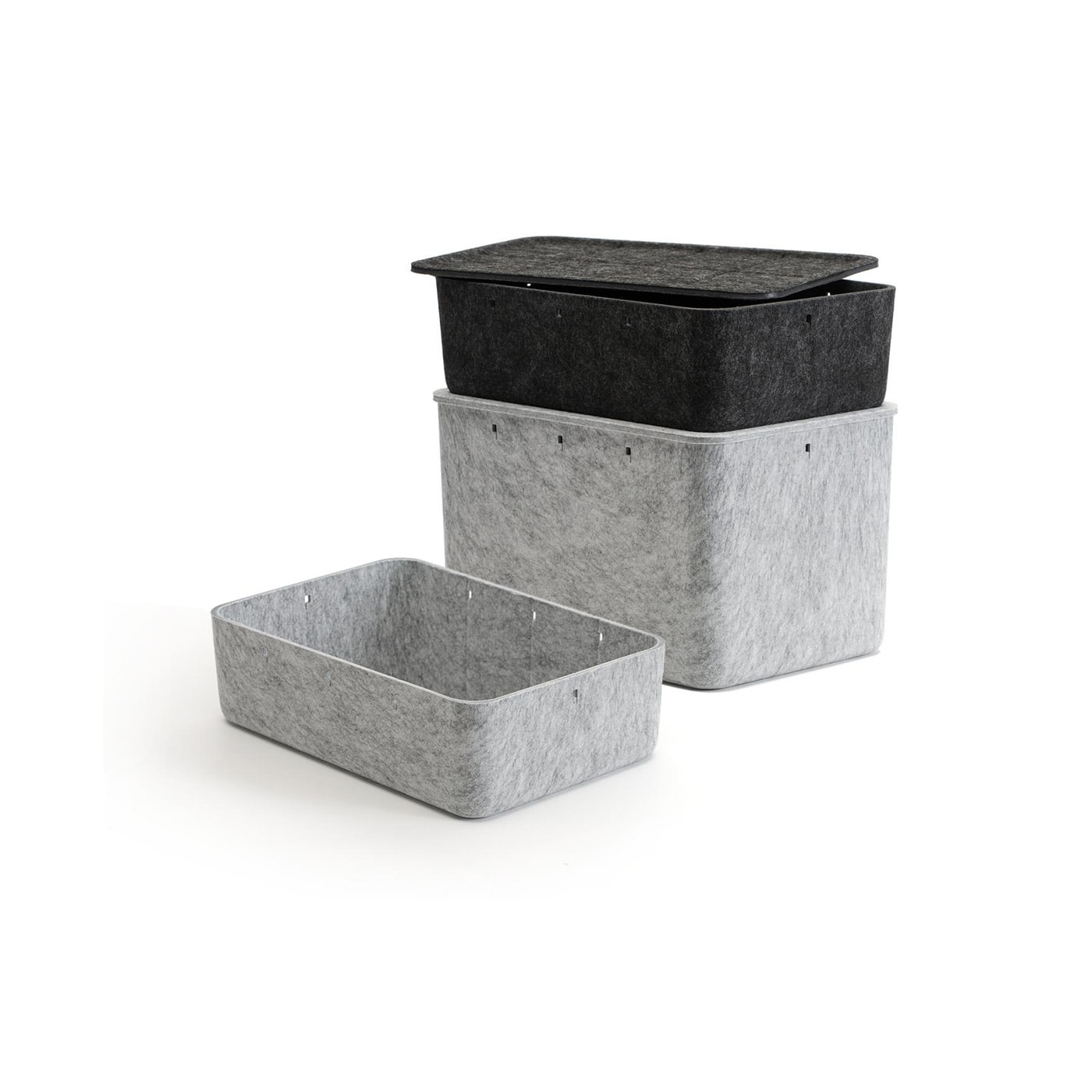 USM Inos Box contenitori feltro