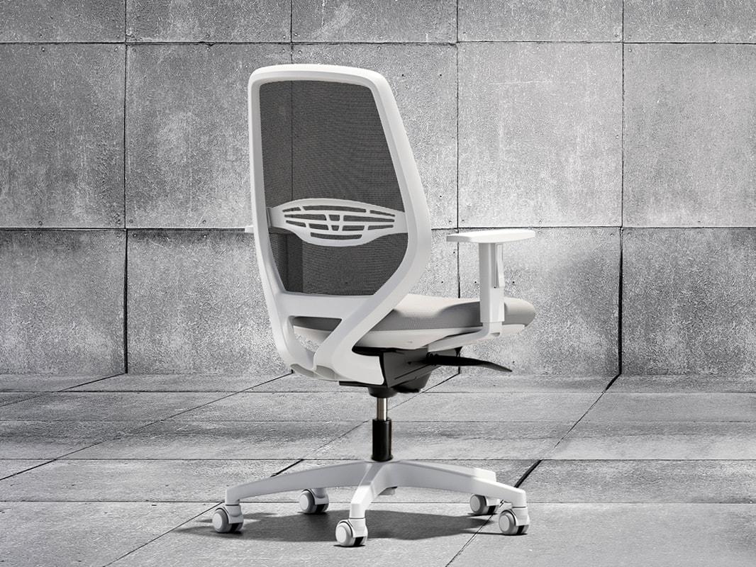 Della Chiara Smart sedia ufficio bianca - gallery3
