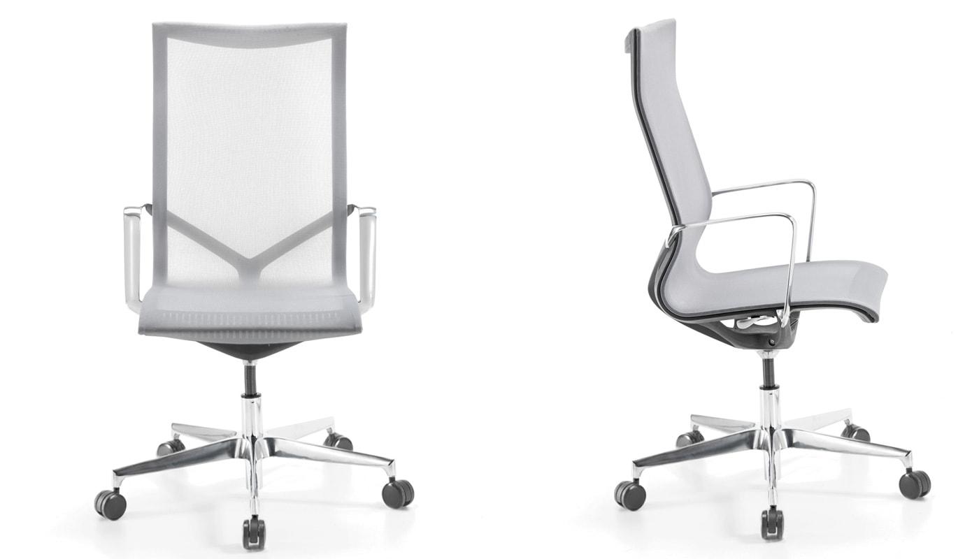 Della Chiara New chair alta seduta alta alu gallery 5