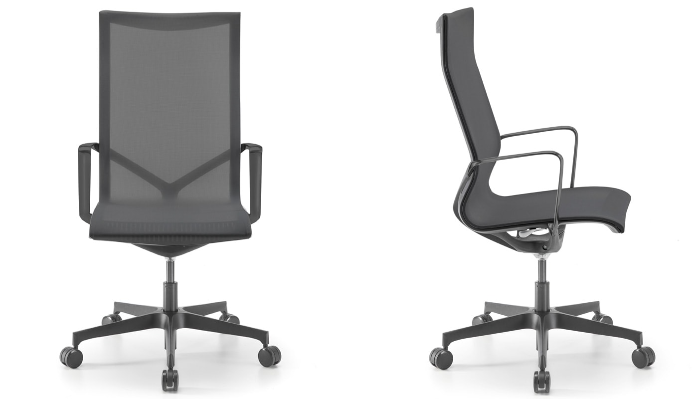 Della Chiara New chair seduta direzionale gallery 1