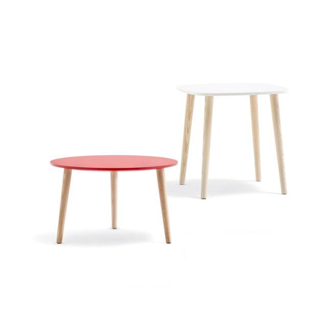 PEDRALI Malmo tavolino gambe frassino
