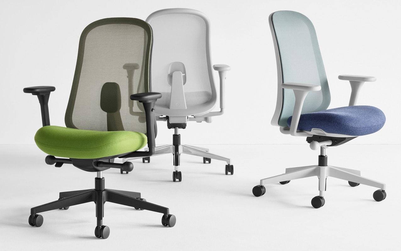 Herman Miller Lino Chair poltrona ufficio gallery 9