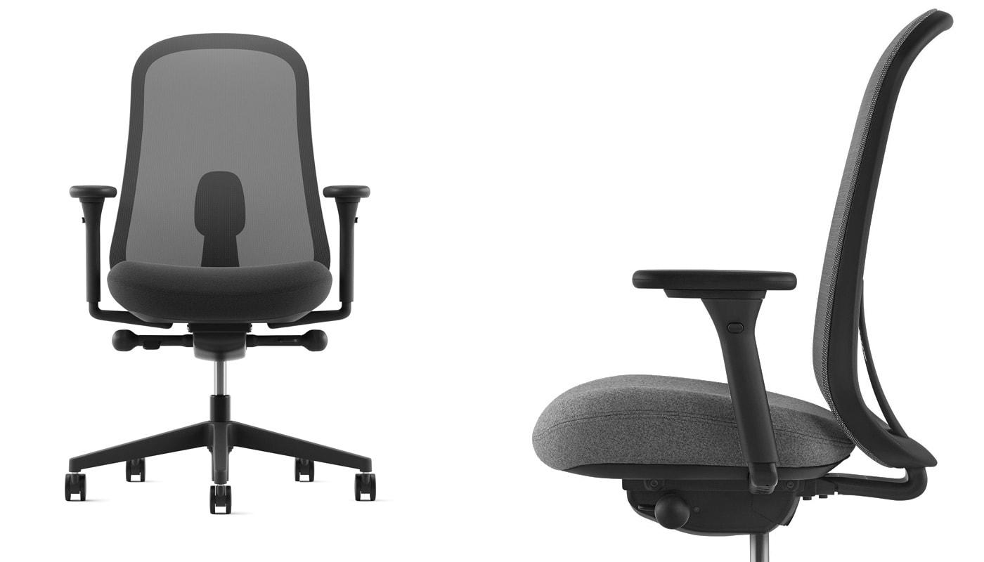 Herman Miller Lino Chair poltrona ufficio gallery graphite
