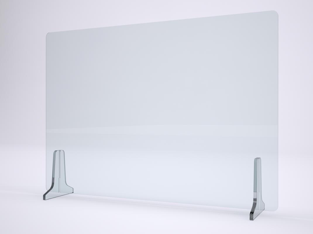 Plexy pannello scrivania gallery 1
