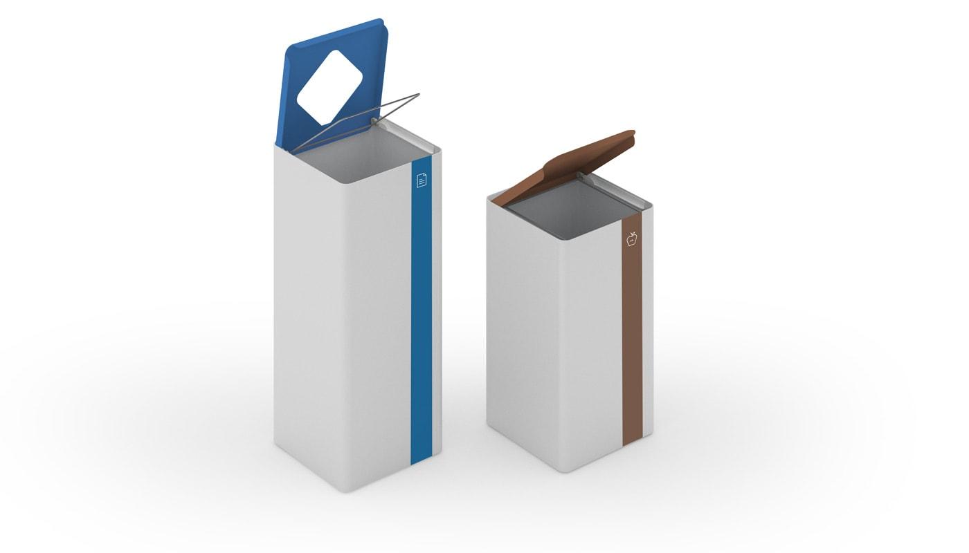 REXITE UNIX contenitore raccolta differenziata gallery 1
