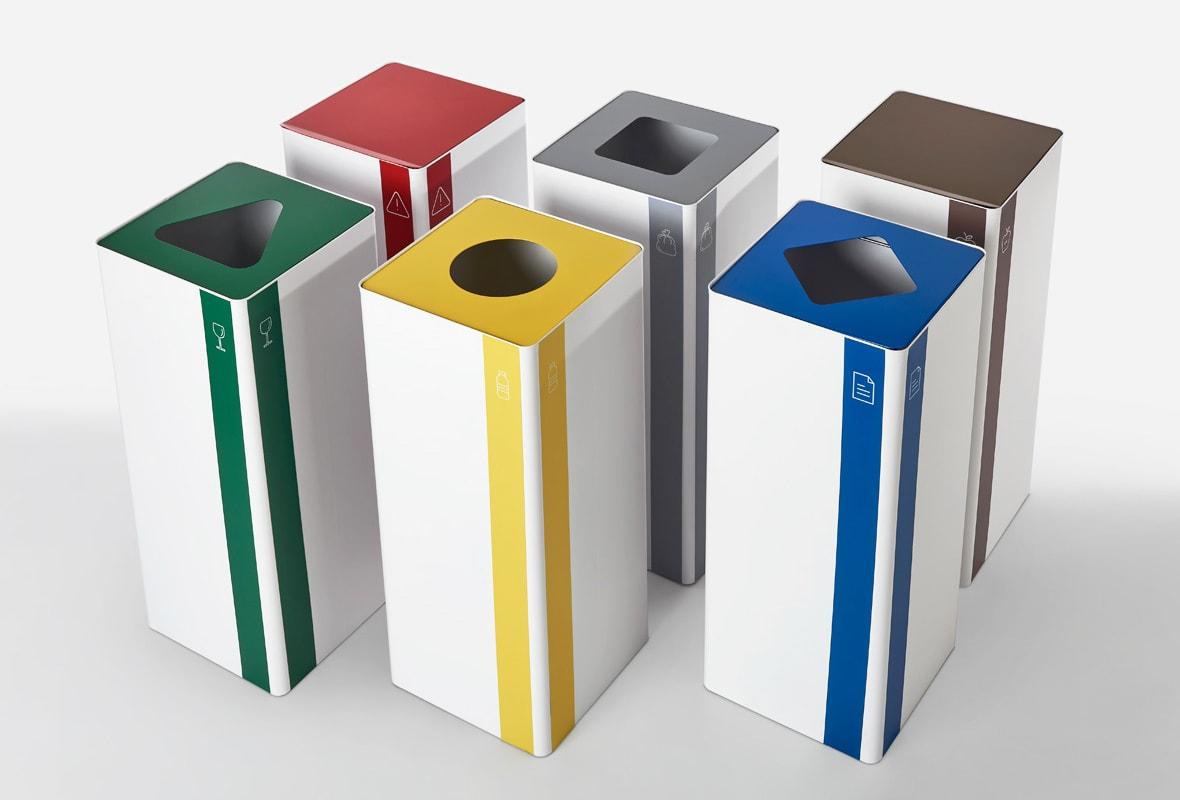 Rexite UNIX contenitore per raccolta differenziata gallery 3