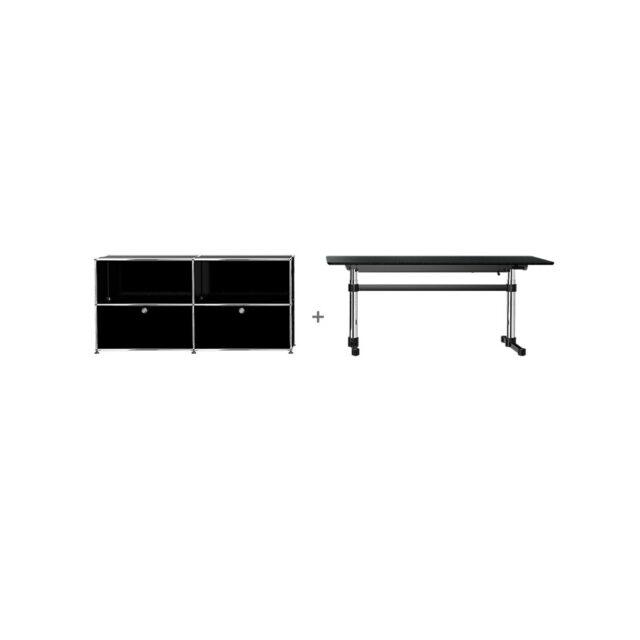 USM HomeOffice 01 Kitos Tavolo Haller contenitore
