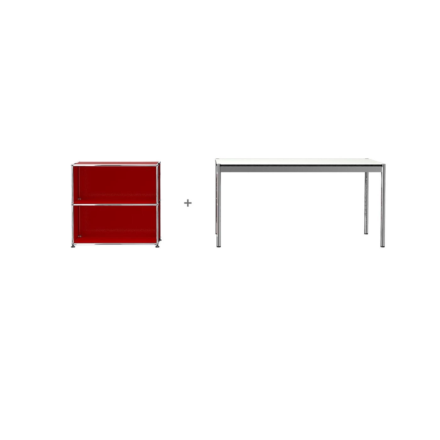 USM HomeOffice 02 Haller tavolo contenitore