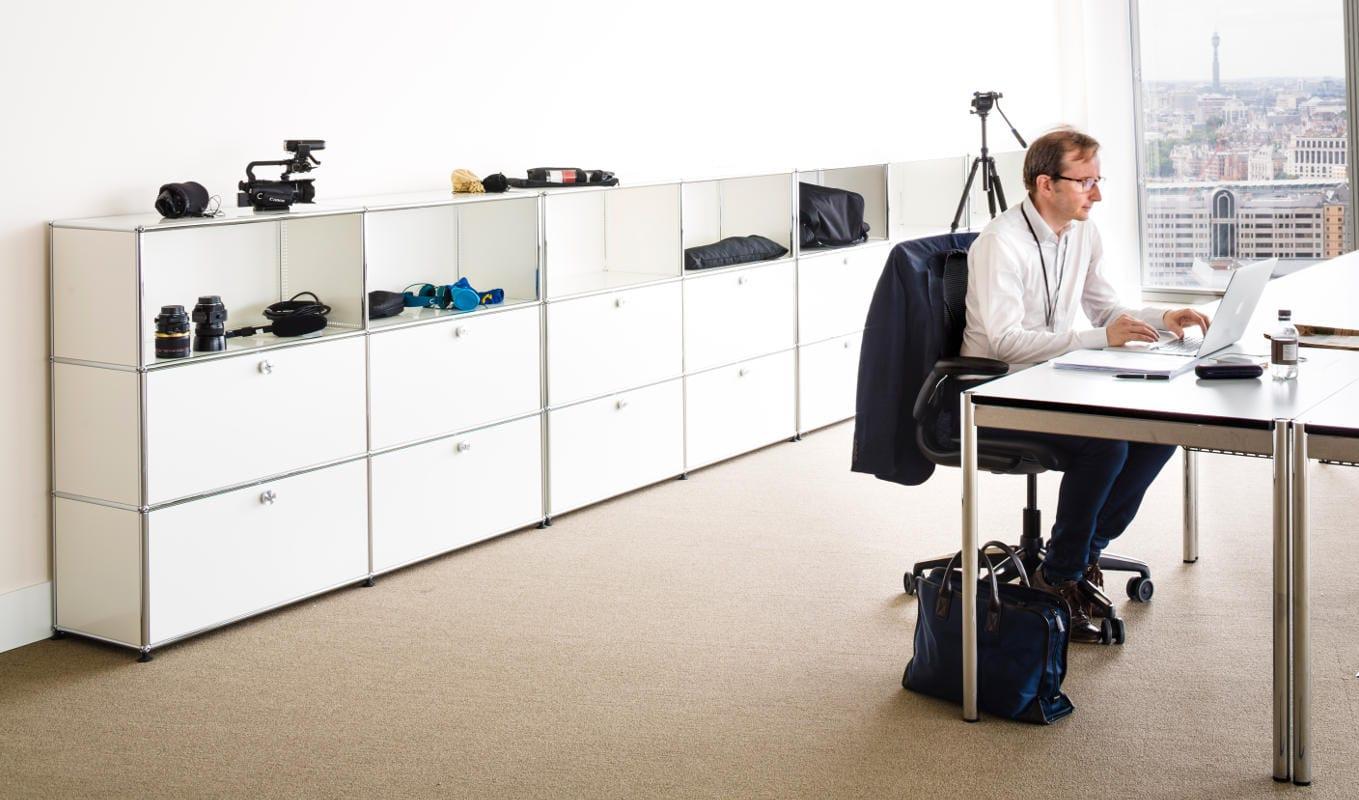 USM HomeOffice2 haller tavolo contenitor gallery 6