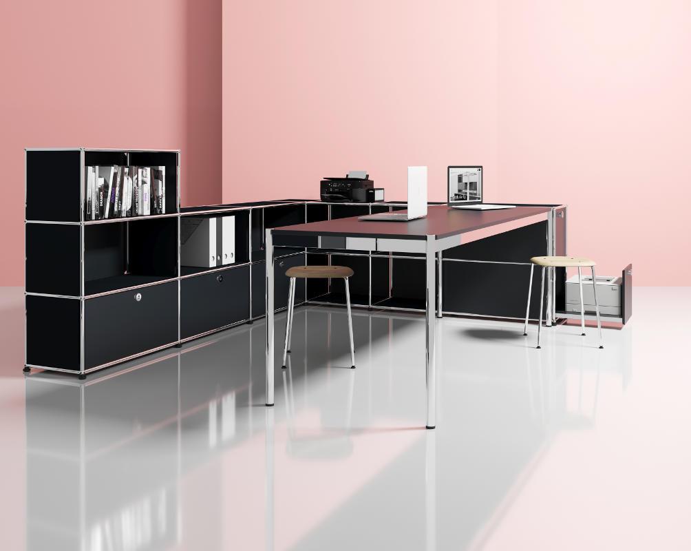 USM HomeOffice 3-4 haller tavolo contenitori gallery 3