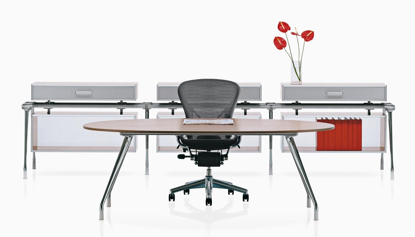 Herman Miller AbakEnvironments tavolo ovale