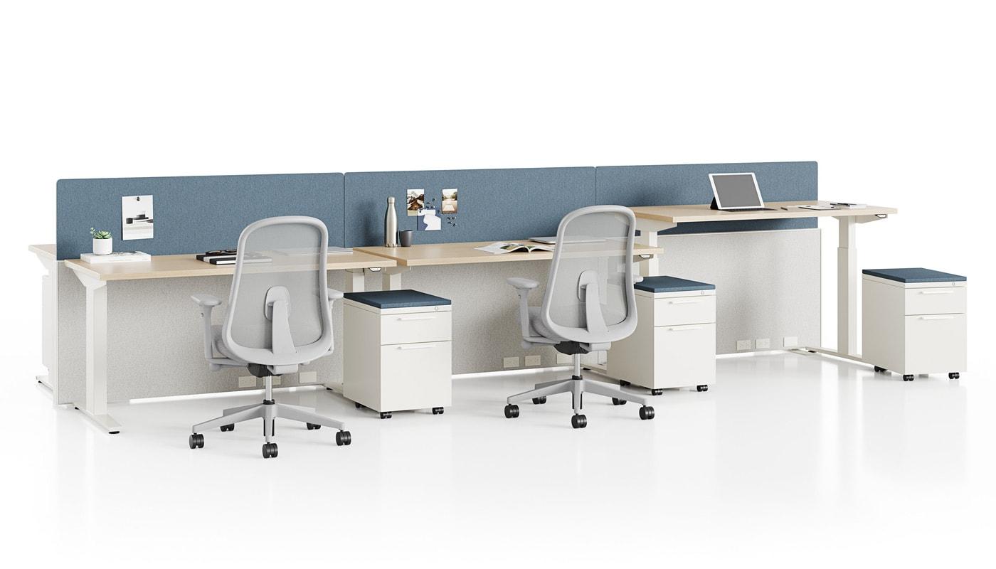 Herman Miller Lino Chair poltrona ufficio NEVI scrivania gallery 7