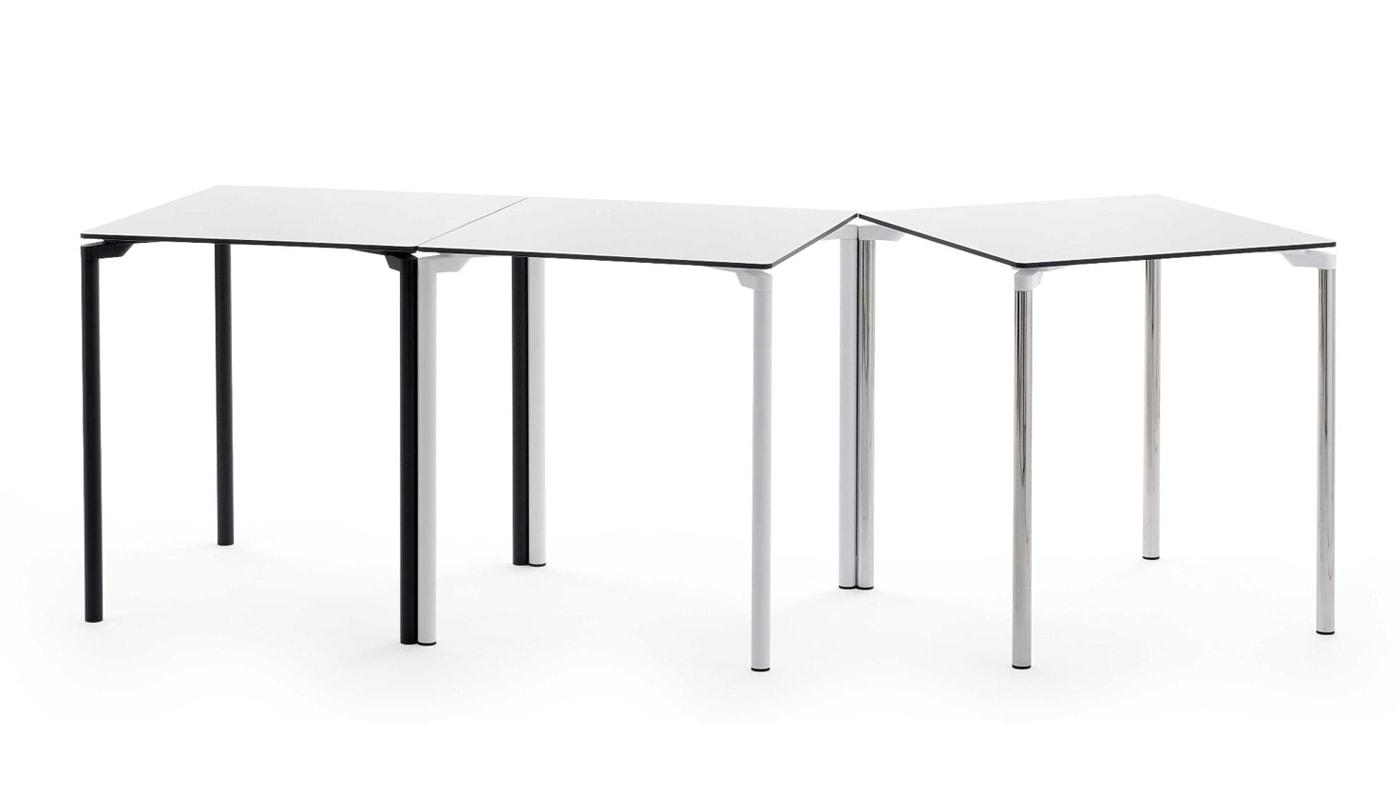 Della Chiara Leg04 tavolo quadrato impilabile gallery 3
