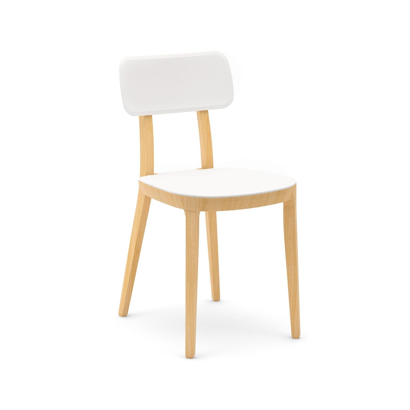 INFINITI Porta Venezia sedia gambe legno
