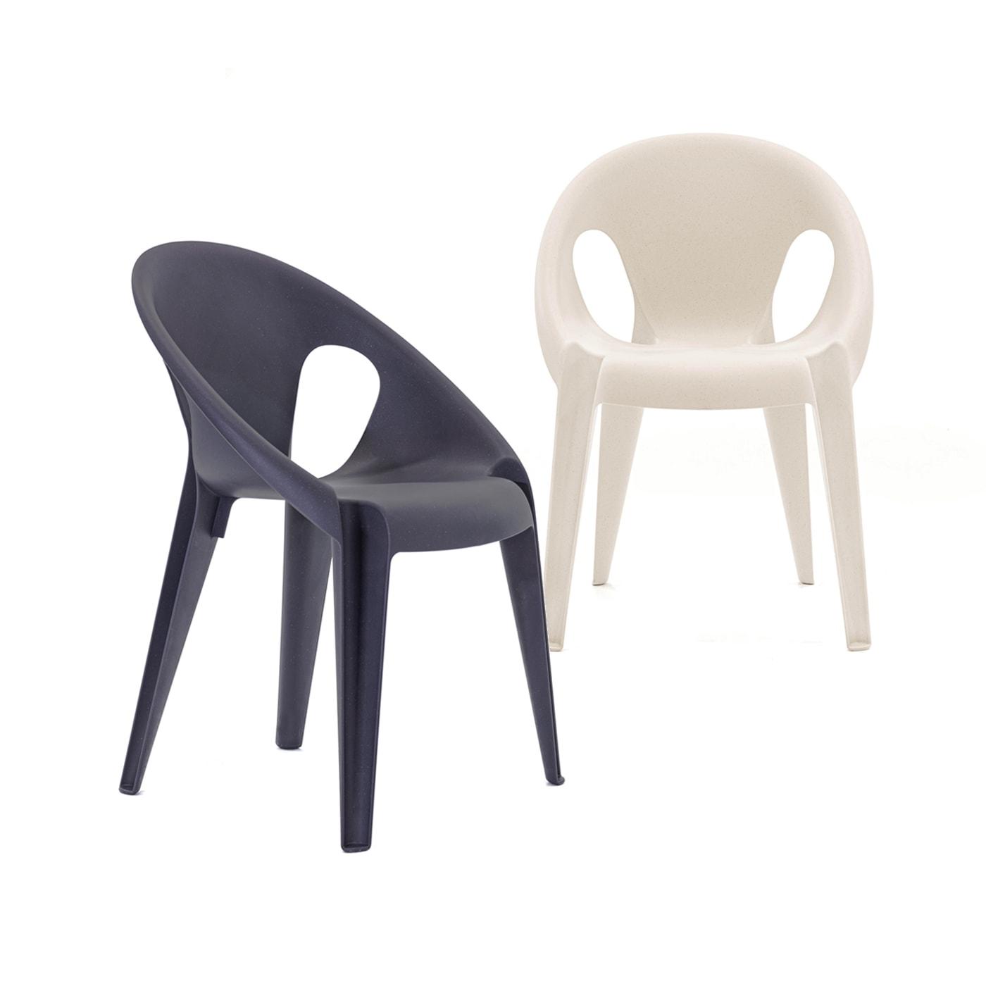 MAGIS Bell Chair Sedia impilabile materiale riciclato - vendita onlline