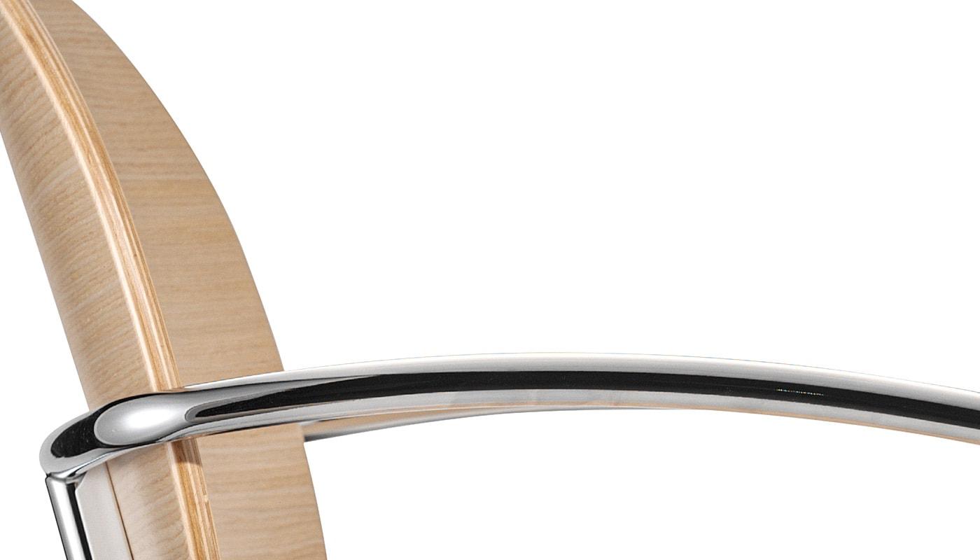 INFINITI Tondina 4Legs sedia scocca legno gallery dettaglio