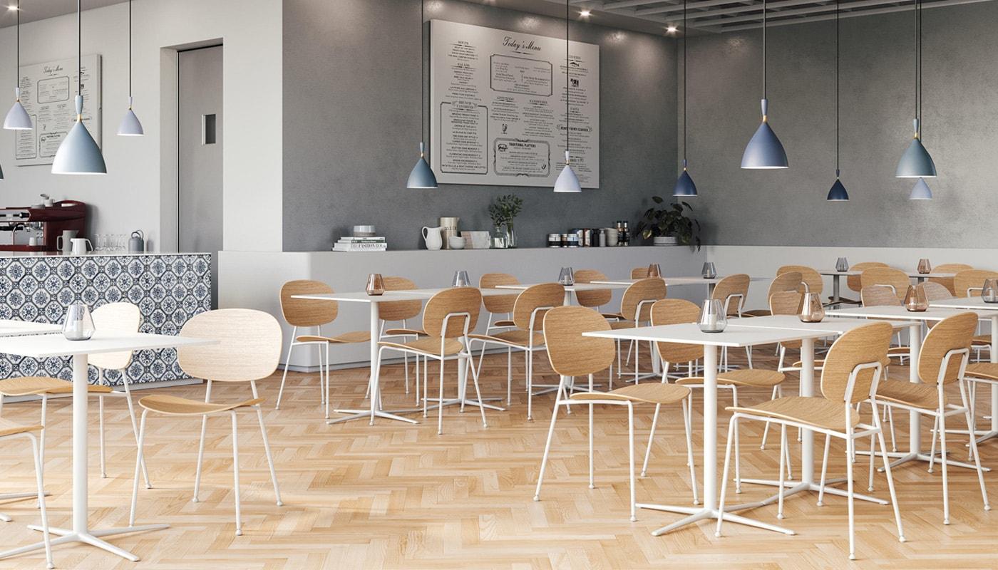 INFINITI Tondina 4Legs sedia scocca legno gallery 1