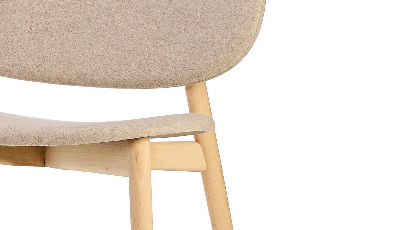 INFINITI Harmo RELAX poltroncina in legno dettaglio gallery