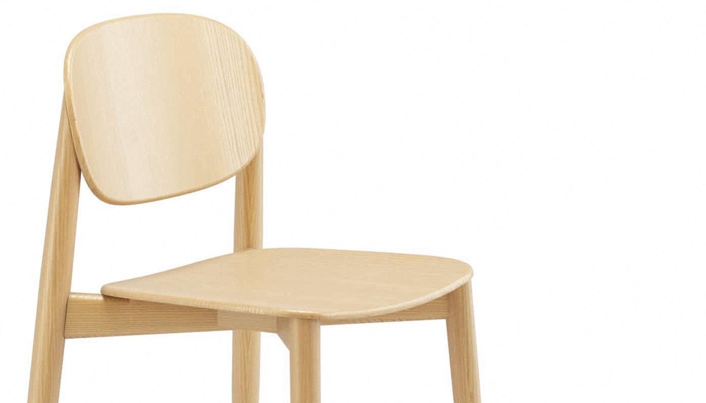 INFINITI Harmo sedia in legno dettaglio gallery