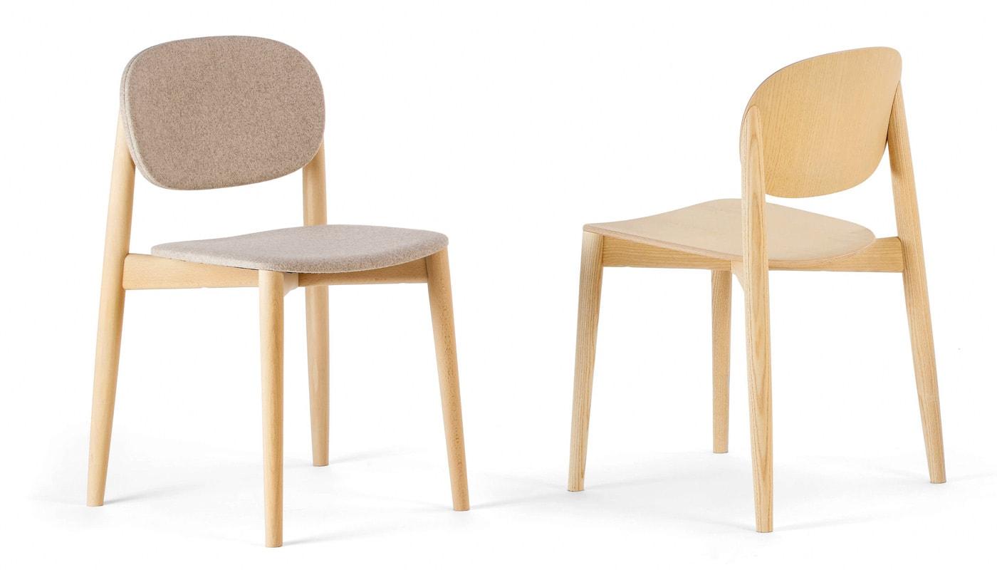 INFINITI Harmo sedia in legno gallery