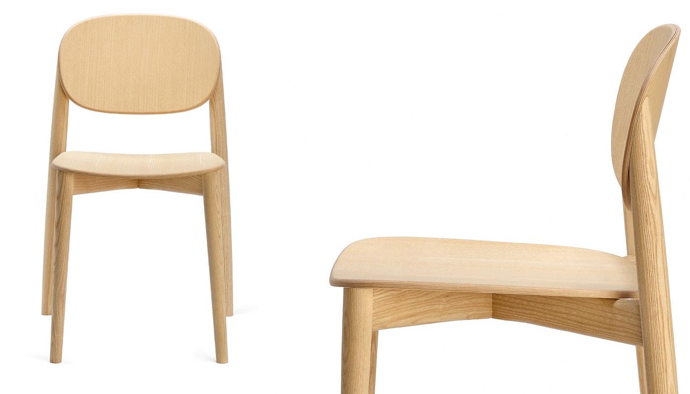 INFINITI Harmo sedia in legno dettaglio gallery 2