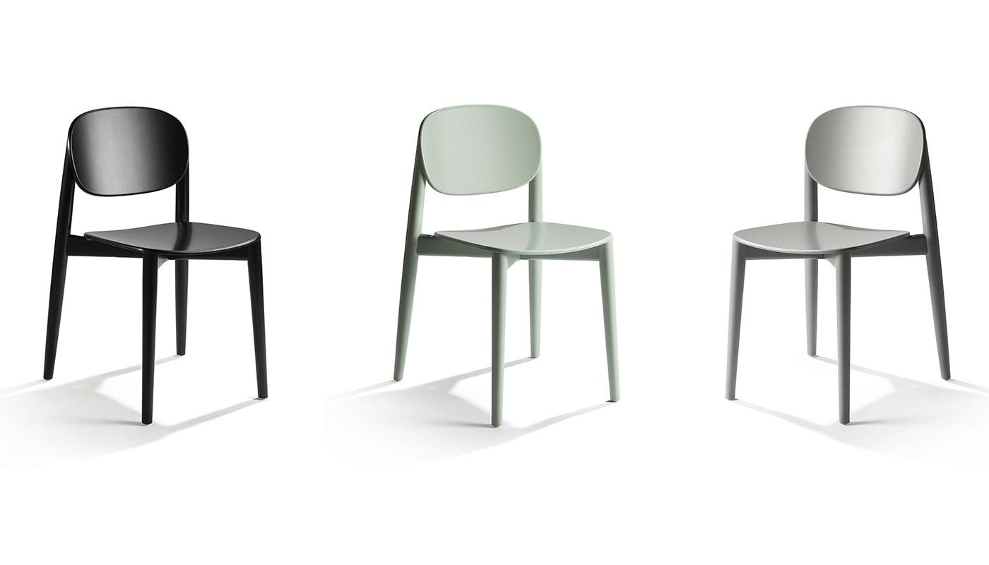 INFINITI Harmo sedia in legno gallery 4